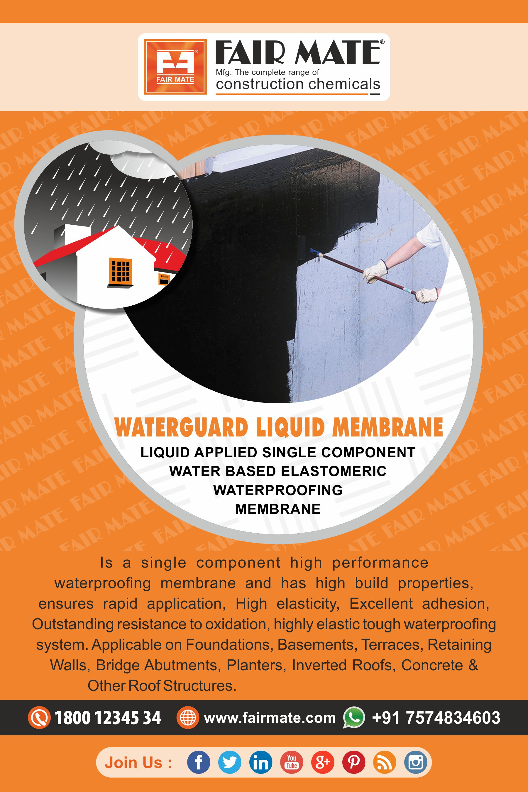 WATERGUARD LIQUID MEMBRANE | Fairmate Blog
